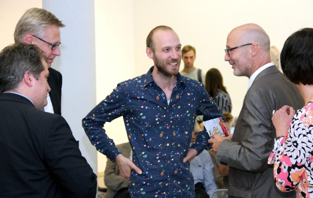 David Czupryn ist Träger des diesjährigen Internationalen Bergischen Kunstpreises, der mit satten 5000 Euro dotiert wurde. (Foto: B. Glumm)