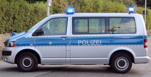 Einsatzfahrzeug der Polizei in Solingen. (Archivfoto: B. Glumm)