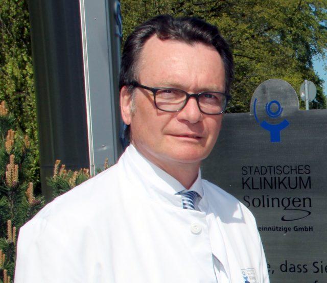 Professor Thomas Standl ist Chefarzt der Klinik für Anästhesie, Operative Intensiv- und Palliativmedizin am Klinikum. (Archivfoto: B. Glumm)