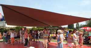 Zum letzten Tanztee im Botanischen Garten in diesem Jahr darf am 18. September das Tanzbein geschwungen werden. (Foto: Stiftung Botanischer Garten Solingen e.V.)