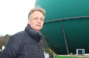 Dr. Frank Lungenstraß ist Geschäftsführer der Walter-Horn-Gesellschaft. Ihn beschäftigt die Vision eines modernen Planetariums in Solingen schon lange. Läuft weiter alles nach Plan, dann wird das Galileum 2018 eröffnen. (Foto: B. Glumm)