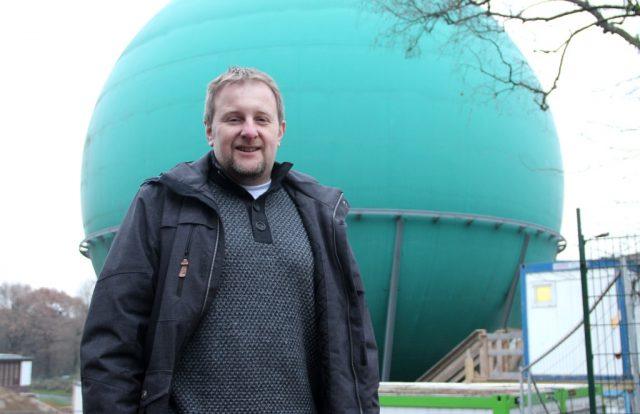 Carsten Zimmermann ist bei der Stadt Solingen Abteilungsleiter für strategische Planung im Büro des Oberbürgermeisters. Er ist von Anfang an bei den Planungen und auch der Umsetzung des Galileums mit dabei. (Foto: B. Glumm)