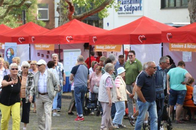 Im Südpark feierte die AWO Niederrhein am Samstag ihr 100-jähriges Bestehen. (Foto: © Bastian Glumm)
