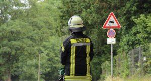 Die Feuerwehrsolingen war am Mittwochmorgen bei einem Feuer in Merscheid im Großeinsatz. (Symvolfoto: B. Glumm)