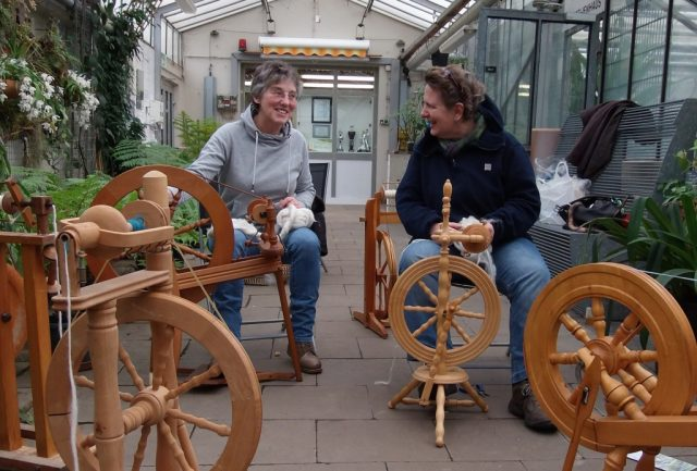 Am Samstag findet im Botanischen Garten das zweite offene Spinntrefffen statt. (Foto: Botanischer Garten Solingen)