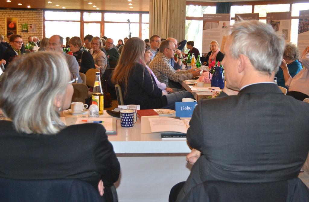 Die Herbstsynode des Evangelischen Kirchenkreises Solingen fand am Samstag im Evangelischen Gemeindezentrum Merscheid statt. (Foto: Thomas Förster/Ev. Kirche Solingen)
