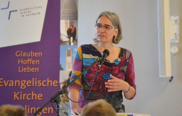 Dr. Ilka Werner ist Superintendentin des Evangelischen Kirchenkreises Solingen. (Foto: © Evangelische Kirche Solingen)