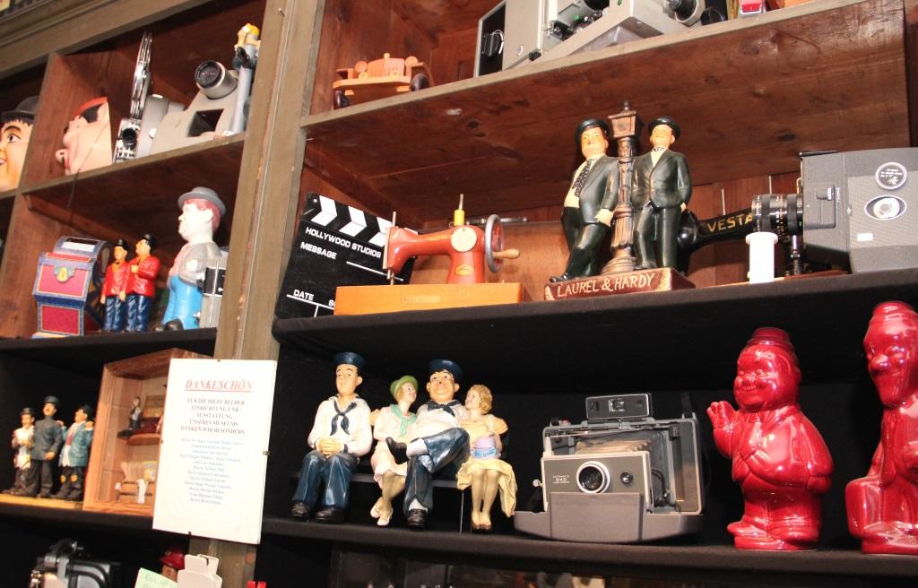 """Der Walder Kotten ist ein El Dorade für Freunde von """"Dick und Doof"""". Längst hat sich das Museum einen Namen weit über Solingens Stadtgrenzen hinaus gemacht. (Archivfoto: B. Glumm)"""