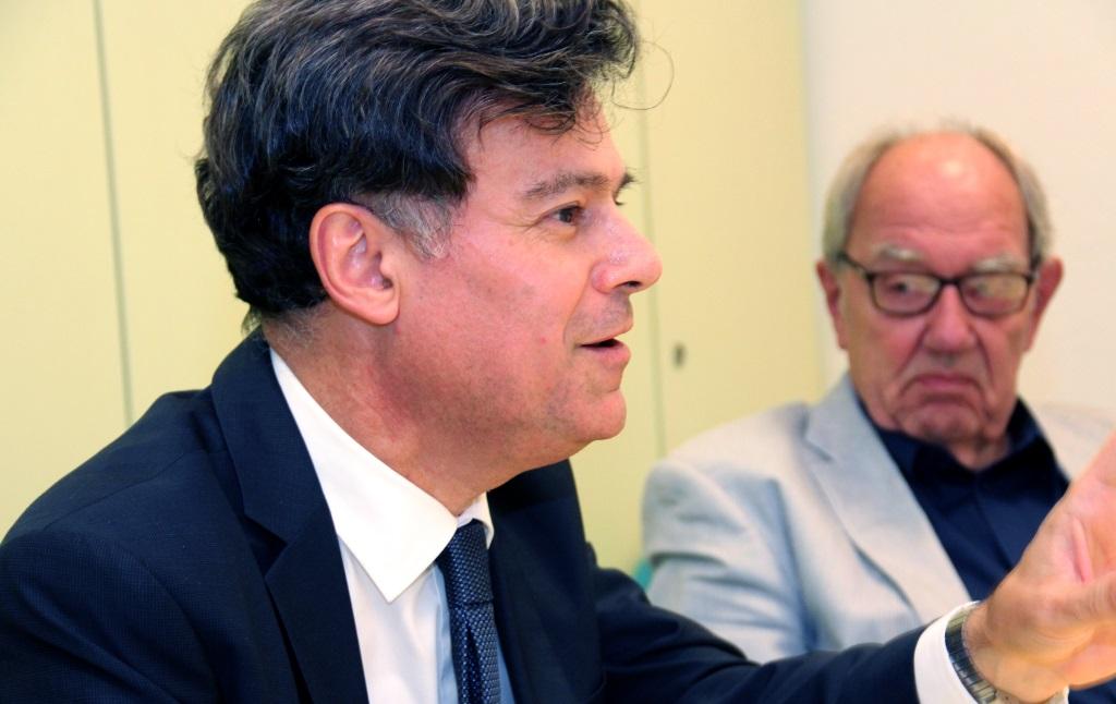 Prof. Dr. Giovanni Maio stezt sich dafür ein, dass bei der Patientenbehandlung wieder der Mensch und nicht die Rendite im Mittelpunkt steht. (Foto: B. Glumm)