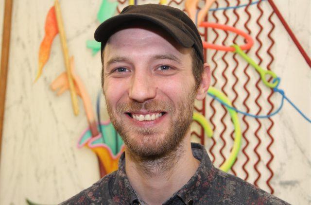 Der 33-jährige Künstler David Czupryn gewann den Publikumspreis der 70. Bergischen Kunstausstellung. Den Internationalen Bergischen Kunstpreis sahnte er Anfang September ebenfalls ab. (Foto: B. Glumm)