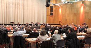 Am Donnerstag wurde der der Haushaltsentwurf für das Jahr 2017 von der Verwaltung in den Rat der Stadt Solingen eingebracht. (Archivfoto: B. Glumm)