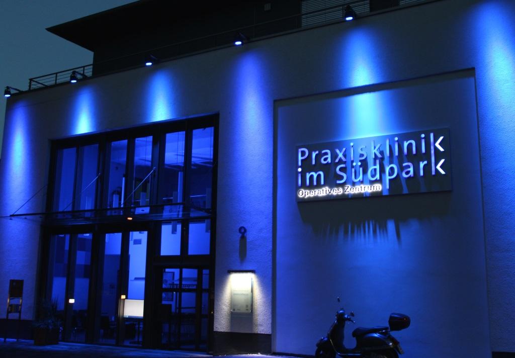 Die Praxisklinik im Südpark ist aus dem 1998 gegründeten OP-Zentrum Mummstraße hervorgegangen. 2012 konnten die neuen Räume im Südpark bezogen werden. (Archivfoto: B. Glumm)