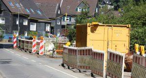 Über Weihnachten und bis ins neue Jahr ruhen die Bauarbeiten in Unterburg. In dieser Zeit ist die Ortsdurchfahrt via Eschbachstraße frei. (Archivfoto: © Bastian Glumm)