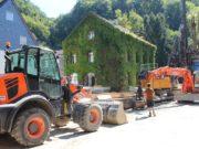 Die langwierigen Bauarbeiten in Unterburg nähern sich endlich ihrem Ende. (Archivfoto: © Bastian Glumm)