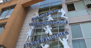 Die Bergische Volkshochschule in den Clemens-Galerien an der Mummstraße. (Archivfoto: © Bastian Glumm)