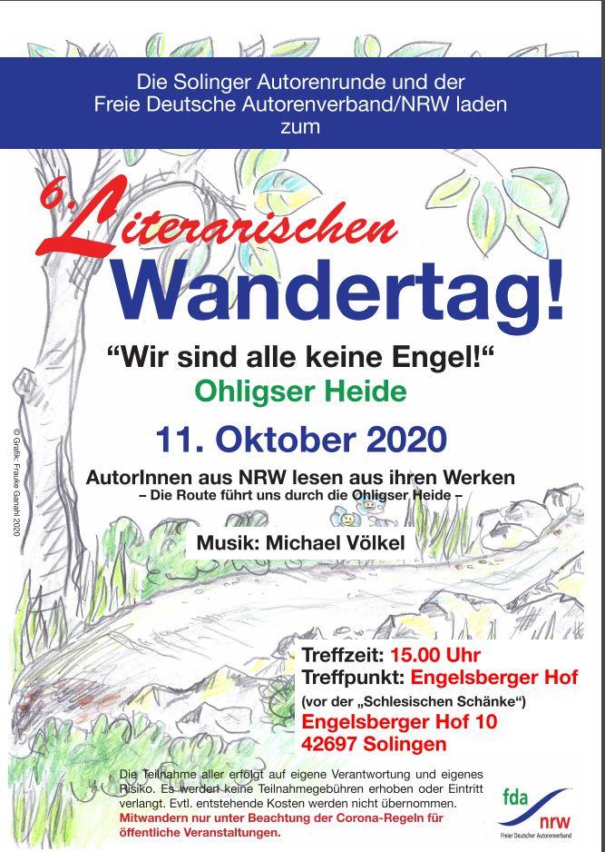 Das diesjährige Plakat enthält alle erforderlichen Angaben zur Veranstaltung. (Foto: © Frauke Ganahl)