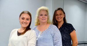 Annika Kron, Angela Gatz und Alexandra Kurth sind das neue Team Vibes. Die drei Powerfrauen bringen mit ihrem neuen Konzept frischen Wind in die Location. (Foto: © Martina Hörle)