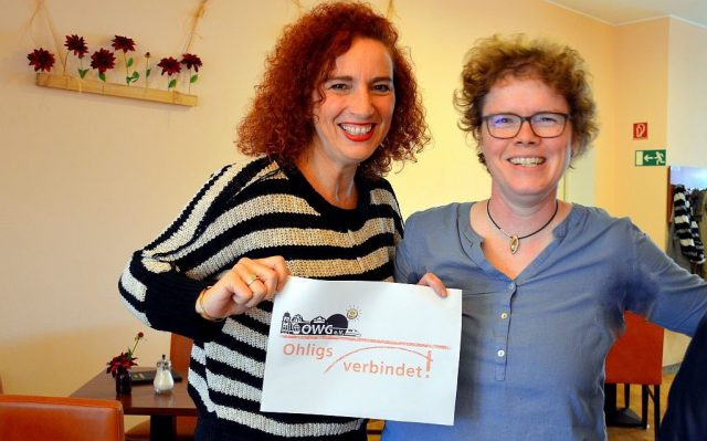 Projektleiterin Gloria Göllmann und Schriftführerin Frauke Pohlmann berichten über das große Fest, das die OWG in diesem Jahr unter das Motto