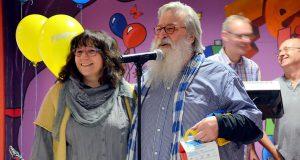 """Sybilla und Gunter """"Felix"""" Opitz sind glücklich, dass der Kids-Club endlich wieder für die Kinder zur Verfügung steht. Im kommenden Jahr wird an jedem Tag geöffnet sein. (Foto: © Martina Hörle)"""