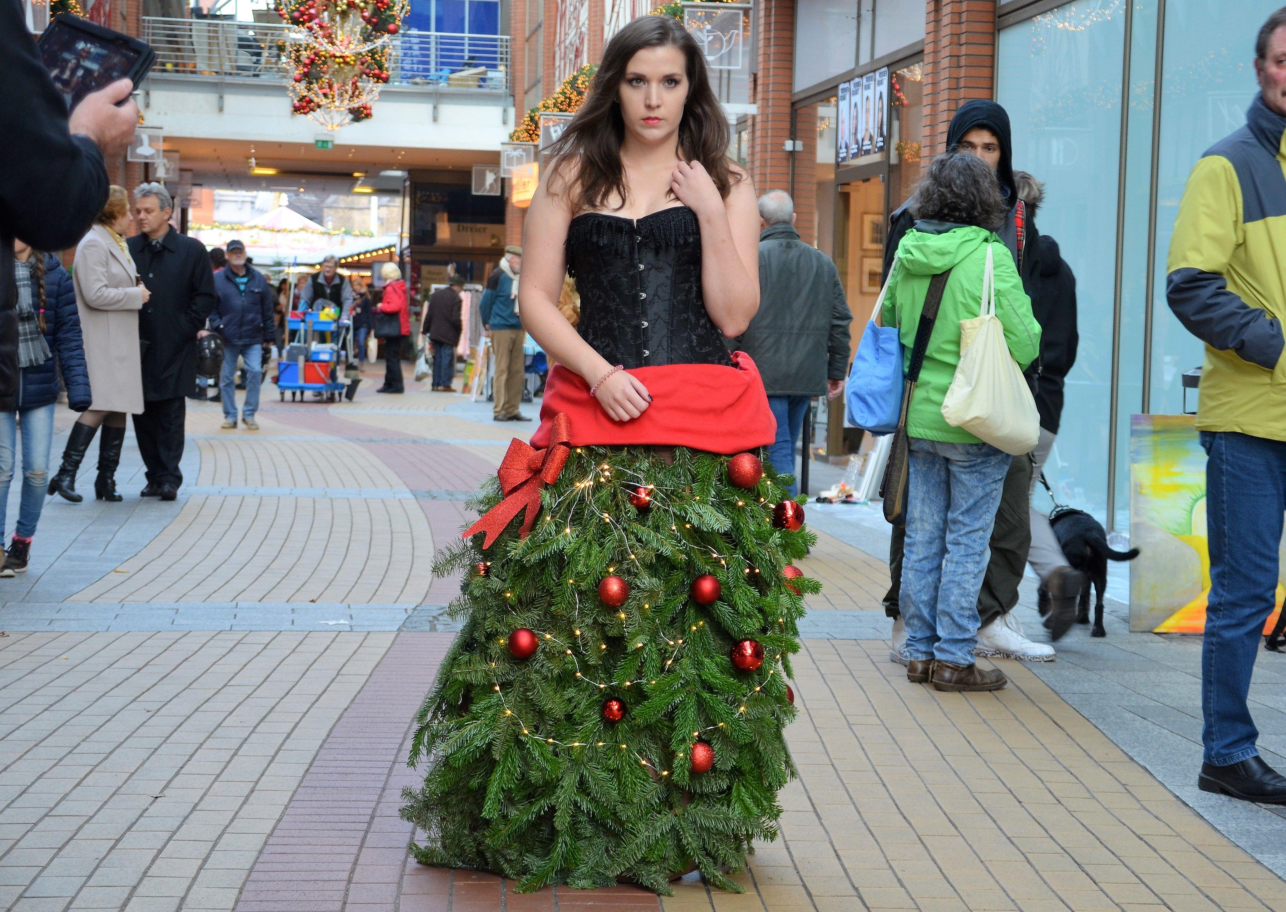 Weihnachtsbaum Drahtgestell.Clemens Galerien Kunst Musik Und Ein Weihnachtsbaum Zum Anziehen