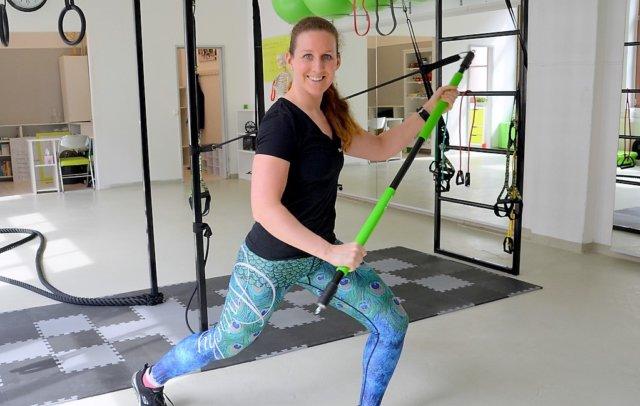 Gesundheitsmanagerin Catharina Wurlitzer zieht mit ihrem Studio Wurlitzer Health bereits nach einem halben Jahr in größere Räume. Die Nachfrage ist so groß, dass der bisherige Platz nicht mehr ausreicht. (Foto: © Martina Hörle)