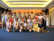 Andrea Daun war ganz begeistert von der intensiven Zusammenarbeit. Die Seminarteilnehmer waren überaus interessiert und aufgeschlossen. (Foto: © Xiè Ming)