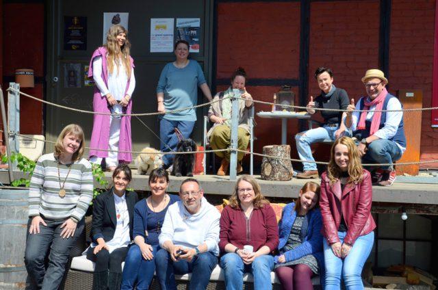 Am Samstag trafen sich Tarot-Mitglieder zu einem regen Austausch im Alten Stellwerk. Die diesjährige TarotCon stand ganz im Zeichen der Innovation. (Foto: © Martina Hörle)