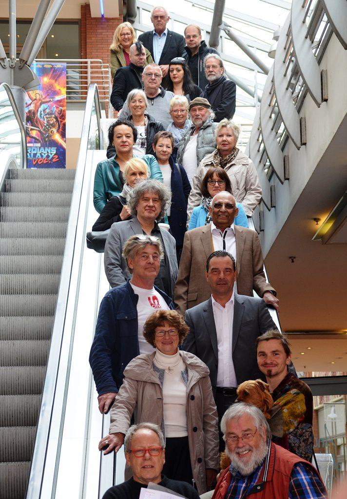 Über 30 Künstler beteiligen sich am Grand Opening. Mit ihren Werken füllen sie 16 Ladenlokale und 70 Schaufenster. (Foto: © Martina Hörle)