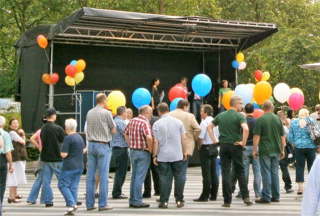 Wie schon im Vorjahr wird es auf der Bühne viel Musik, Aktionen und Tanz geben. (Archivfoto: © Martina Hörle)