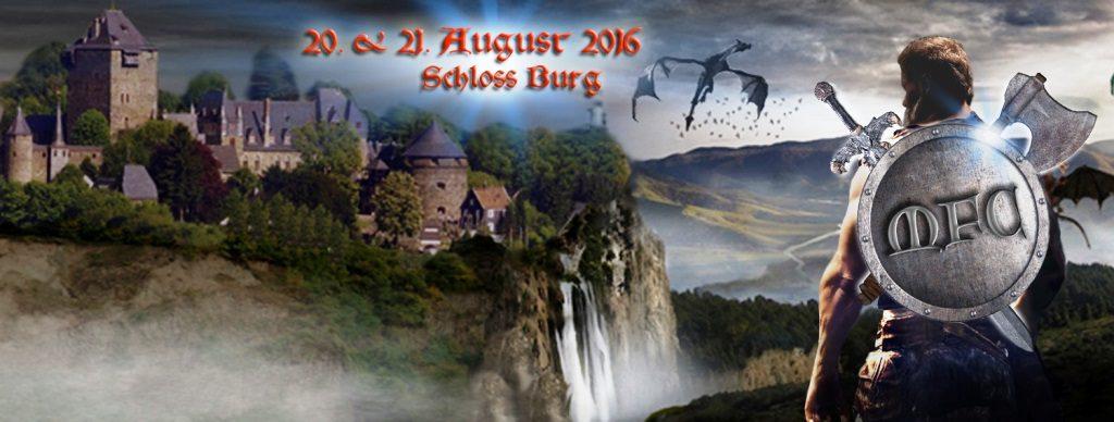 Der Schlossbauverein ist von Jörg Bürrigs Idee der Mittelalter- und Fantasy-Events begeistert. Künftig soll in jedem Jahr ein solches Ereignis stattfinden. (Foto: © Epicon)