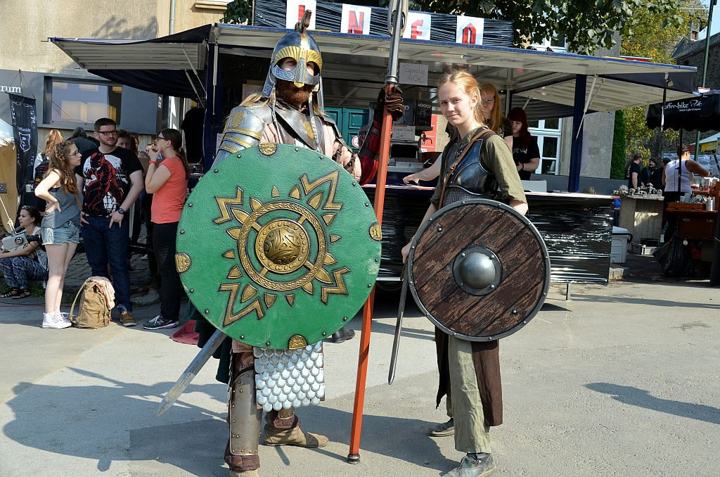 Unzählige Cosplayer sind gekommen und präsentieren voller Stolz und mit viel Freude ihre fantasiereichen Kostüme. (Foto: © Martina Hörle)