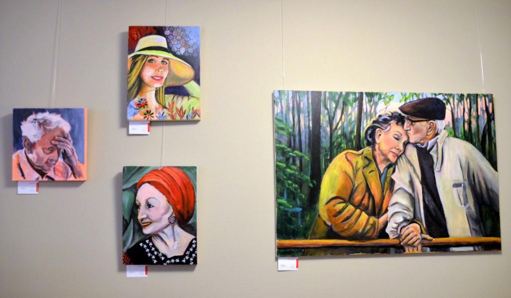 Zehn Wochen hing das Werk im Rahmen einer Gemeinschaftsausstellung in der Galerie. (Archivfoto: ©Martina Hörle)