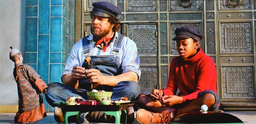 Spannung und Spaß erlebten die Zuschauer bei den Abenteuern von Jim und Lukas. (Foto: © Martina Hörle)