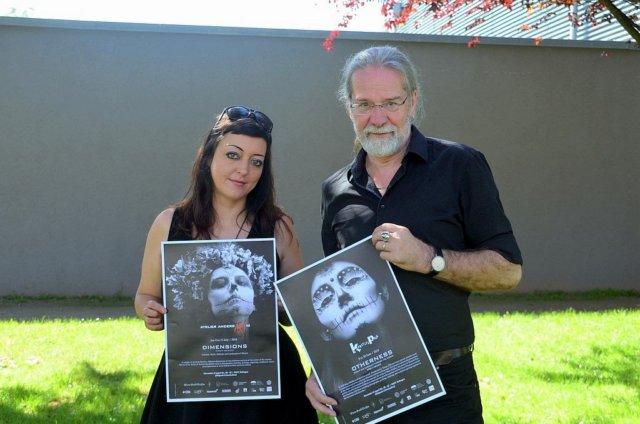 Janine Werner und Ingo Schleutermann sind sehr stolz darauf, dass sie auch in diesem Jahr die mexikanische Kunstszene wieder nach Solingen holen können. In der Ausstellung werden 60 Künstler ihre Werke präsentieren. Werner und Schleutermann sind die einzigen Teilnehmer aus Deutschland. (Foto: © Martina Hörle)