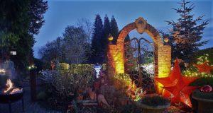 Am vergangenen Donnerstag fand wieder wie an jedem letzten Donnerstag im November das jährliche Candlelight-Shopping bei Garten Ulbrich am Bertramsmühler Weg statt. (Foto: Martina Hörle)