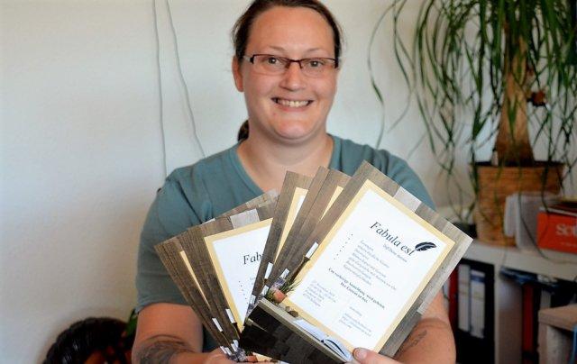 """Kinderbuchautorin Christina Willemse lädt ein zu """"Fabula est"""". Es soll ein Mix aus Buch- und Signaturmesse, Lesung und Autorentreffen werden. (Foto: © Martina Hörle)"""