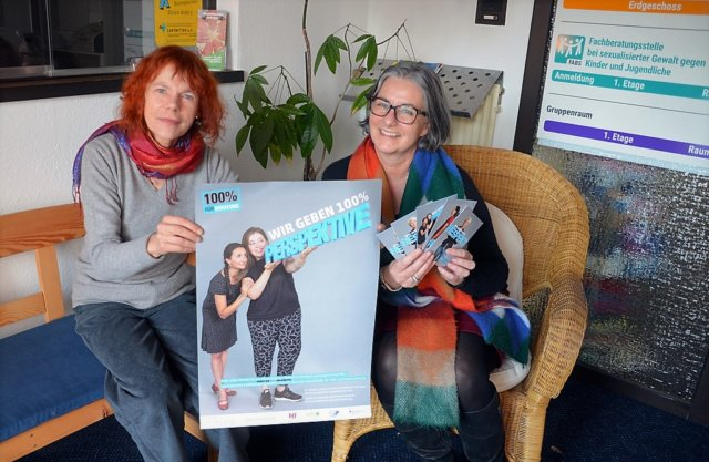 Anne Grefer (li.) und Andrea Lafos freuen sich auf die neue Gruppe, die in Kürze an den Start gehen soll. (Foto: © Martina Hörle)