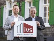 Thomas Broszat (li.) und Eberhard Stein führen seit Januar 2020 gemeinsam die Geschäfte der IVS Immobilien GmbH & Co. KG an der Gerberstraße in Solingen-Gräfrath. (Foto: © Cornelius Cantow)