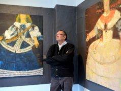 In seiner neuen Werkreihe hat sich Ioan Iacob an den spanischen Maler Diego Velázquez angelehnt. In 14 Werken zeigt er seine malerischen Interpretationen. (Foto: © Martina Hörle)