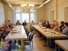"""Die Initiative """"Zuhause leben"""" ist ein Zusammenschluss von Solinger Betrieben und regionalen Dienstleistern. Bei der letzten Vollversammlung wurden Sabine Frommann und Uwe Luchtenberg als Sprecher für die Initiative gewählt. (Foto: © Martina Hörle)"""