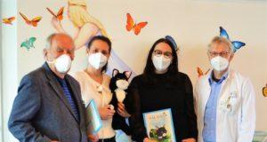 Die Erfolgsgeschichte von Kater Salabim startet im Klinikum. (Foto: Dr. Hans-Joachim Müller-Stöver, Sandra Kratz, Sabrina Fehrekampf, Dr. Volker Soditt)