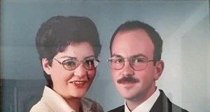 Konny und Andreas bei ihrer Hochzeit am 30. August 1995 (Foto: © Konny Pöppel)
