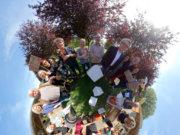 Bei der diesjährigen 13. Lichternacht zeigen nationale und internationale Künstler ein großartiges Spektakel aus Luftakrobatik, Lichtinstallationen und 3D-Technik. Trotzdem wird die Beschaulichkeit nicht vergessen. (Foto: © EXCIT3D)