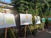 Die diesjährige Ausstellung der Malgruppe im Botanischen Garten ist bis zum 21. Oktober in den Schauhäusern zu besichtigen. (Foto: © Martina Hörle)
