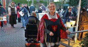 Auf eine Reise ins Mittelalter ging es am Freitag im SenVital Seniorenpark. (Foto: © Martina Hörle)