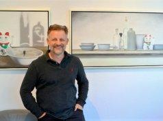 Dirk Balke hat eine Vorliebe für Stillleben und Landschaftsmalerei. Für seine neue Ausstellung hat er in vielerlei Richtungen experimentiert. (Foto: © Martina Hörle)