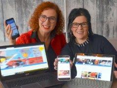 ISG-Geschäftsführerin und Initiatorin Gloria Göllmann wird gemeinsam mit Anita Ranzan, Beraterin für Digitalisierungsfragen, die Ohligs-App an den Start bringen. Am 26. November gibt es dazu einen Info-Abend. (Foto: © Martina Hörle)