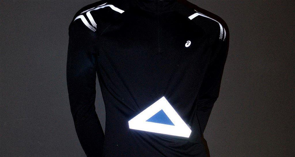 So ein magnetisches Dreieck kann bei Bedarf schnell an der Kleidung angebracht und wieder abgenommen werden. (Foto: © Martina Hörle)