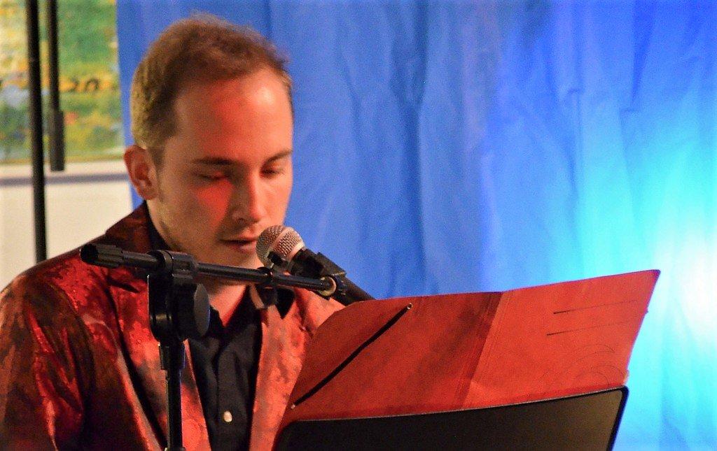 Robert Schreiber konnte als Musiker ebenso überzeugen wie in seiner Rolle als Entertainer. (Foto: © Martina Hörle)