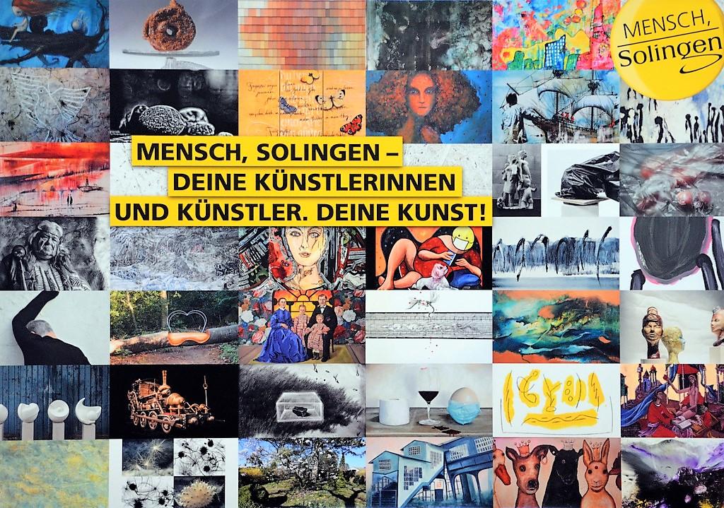 Auf dem Gesamtplakat sind alle teilnehmenden Künstlerinnen und Künstler zu sehen. (Foto: © Martina Hörle)